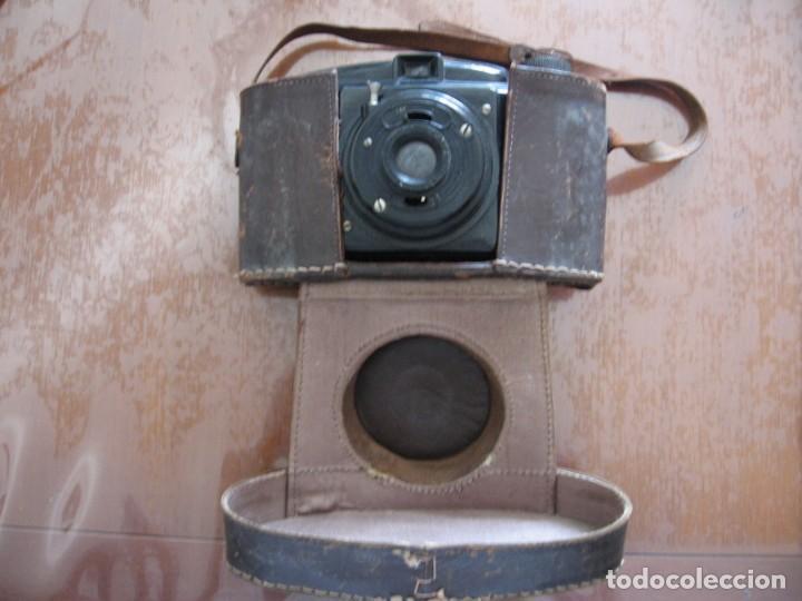 Cámara de fotos: Antigua cámara de fotos marca Fotex con funda de piel. - Foto 2 - 163419566
