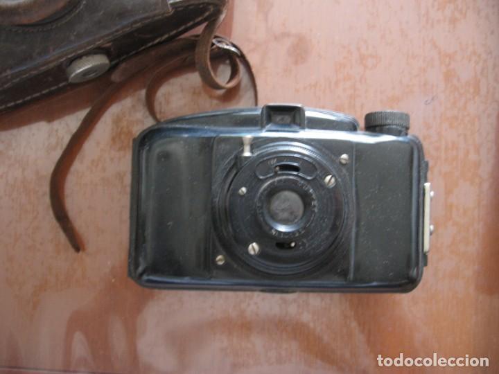 Cámara de fotos: Antigua cámara de fotos marca Fotex con funda de piel. - Foto 8 - 163419566