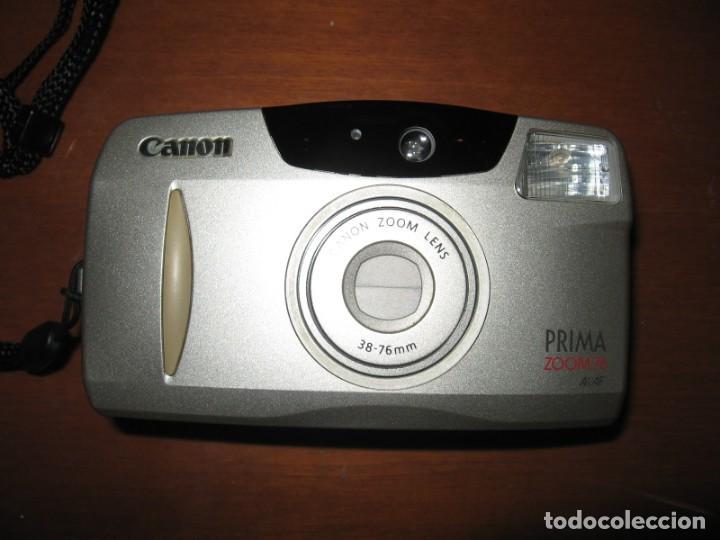 CÁMARA DE FOTOS CANON PRIMA ZOOM 76 (Cámaras Fotográficas - Otras)