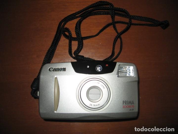 Cámara de fotos: Cámara de fotos Canon Prima zoom 76 - Foto 3 - 163442850