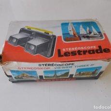 Cámara de fotos: ESTEREREOSCOPIO LESTRADE. Lote 163753862