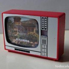 Fotocamere: TELEVISIÓN VISOR DIAPOSITIVAS RECUERDO ALHAMBRA GRANADA TELE JUGUETE SOUVENIR MADE IN SPAIN. Lote 164946446