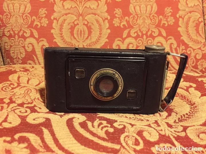 CÁMARA JIFFY KODAK SIX-20 FABRICADA EN U.S.A. POR EASTMAN KODAK CO (Cámaras Fotográficas - Otras)