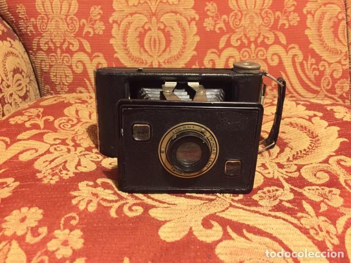 Cámara de fotos: Cámara Jiffy Kodak Six-20 fabricada en U.S.A. por Eastman Kodak Co - Foto 2 - 164976474