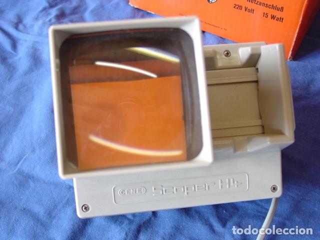 Cámara de fotos: Visor de Diapositivas Cenei-Scoper H4. Con Expulsión dinámica con Receptorio. Caja 18x20x13 cm. - Foto 2 - 165009990