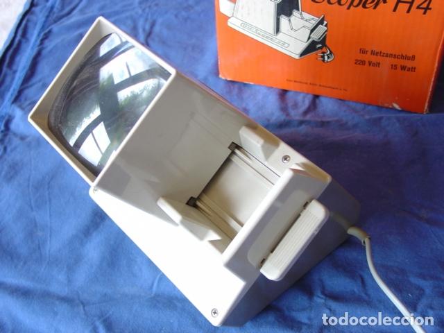 Cámara de fotos: Visor de Diapositivas Cenei-Scoper H4. Con Expulsión dinámica con Receptorio. Caja 18x20x13 cm. - Foto 5 - 165009990