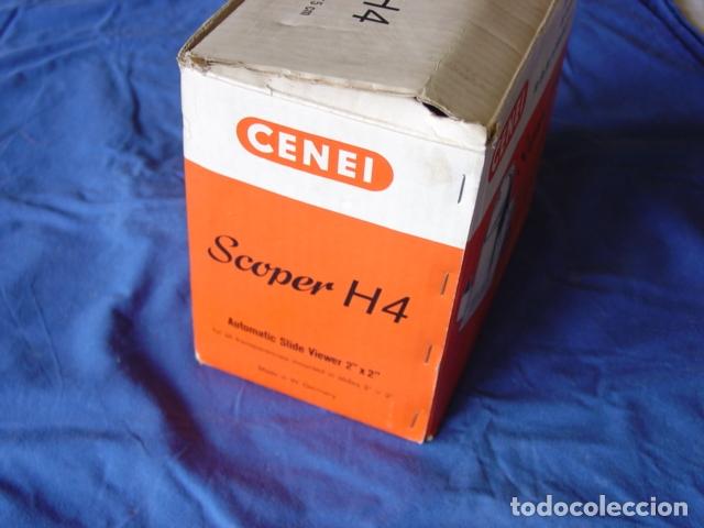 Cámara de fotos: Visor de Diapositivas Cenei-Scoper H4. Con Expulsión dinámica con Receptorio. Caja 18x20x13 cm. - Foto 8 - 165009990