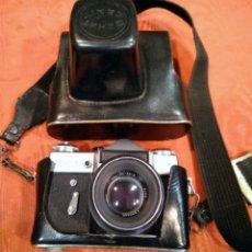 Cámara de fotos: CAMARA FOTOGRÁFICA ZENIT - FUNDA ORIGINAL . Lote 165042886
