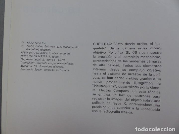 Cámara de fotos: LIBRO LA CAMARA, LIFE LA FOTOGRAFICA, AÑO 1974, SALVAT EDITORES - Foto 4 - 165370158