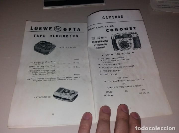Cámara de fotos: Catálogos. Cámaras de foto y otros productos de fotografía (Canon, Kodak, Highgate, Weston) - Foto 10 - 166110438