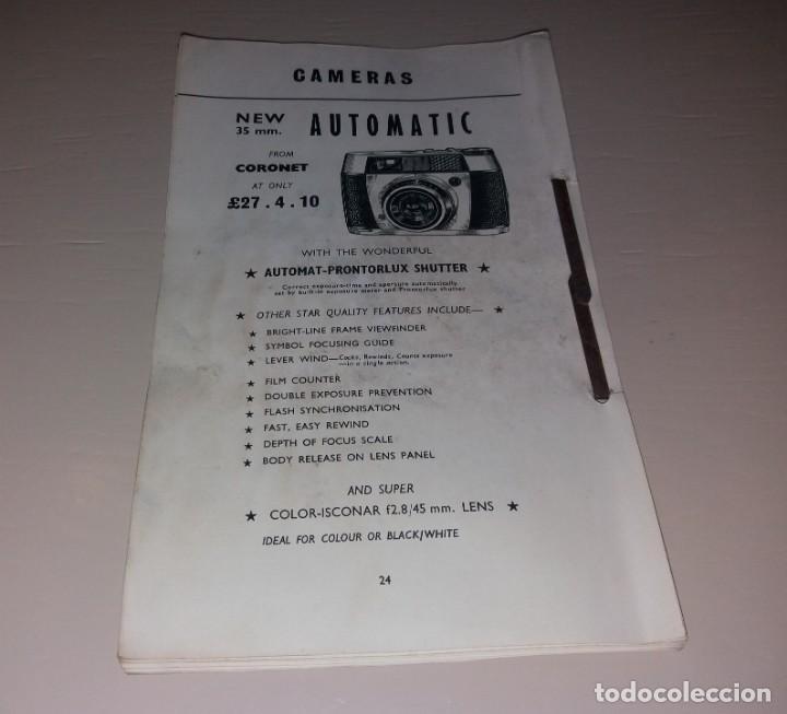 Cámara de fotos: Catálogos. Cámaras de foto y otros productos de fotografía (Canon, Kodak, Highgate, Weston) - Foto 11 - 166110438