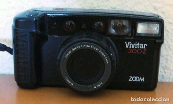CÁMARA FOTOGRÁFICA VIVITAR 300Z. ZOOM - MADE IN JAPAN - FUNCIONA PERFECTAMENTE (Cámaras Fotográficas - Otras)