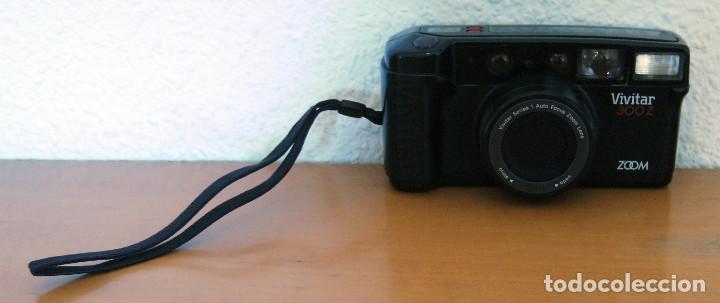 Cámara de fotos: CÁMARA FOTOGRÁFICA VIVITAR 300Z. ZOOM - MADE IN JAPAN - FUNCIONA PERFECTAMENTE - Foto 2 - 166130846