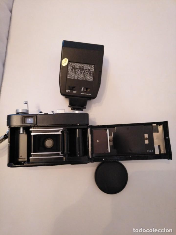 Cámara de fotos: Cámara fotográfica Chinon con flash, años 70/80 - Foto 3 - 167469956