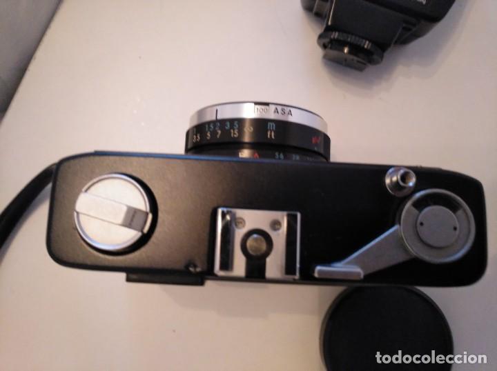 Cámara de fotos: Cámara fotográfica Chinon con flash, años 70/80 - Foto 4 - 167469956