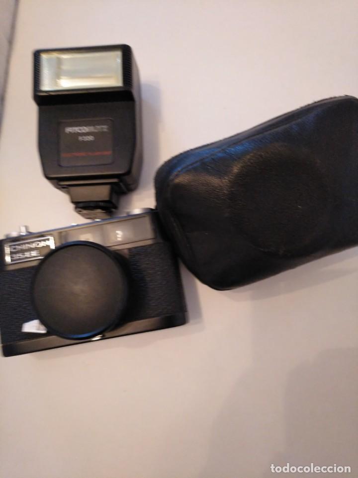 Cámara de fotos: Cámara fotográfica Chinon con flash, años 70/80 - Foto 7 - 167469956