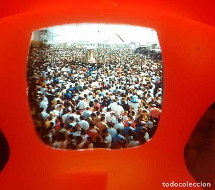 Cámara de fotos: VISOR DE DIAPOSITIVAS CON FORMA DE TELEVISION , EL ROCIO , ANTIGUO , DIFICIL DE ENCONTRAR - Foto 3 - 168064820
