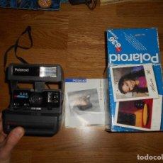 Cámara de fotos: CAMARA DE FOTOS POLAROID 636 CLOSE UP FUNCIONA CON CAJA Y PAPELES ORIGINAL. Lote 168636360
