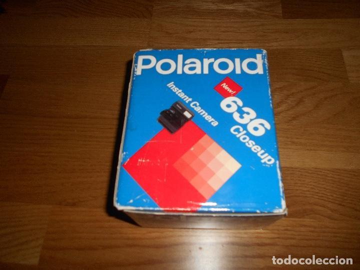 Cámara de fotos: CAMARA DE FOTOS Polaroid 636 Close Up Funciona CON CAJA Y PAPELES ORIGINAL - Foto 2 - 168636360