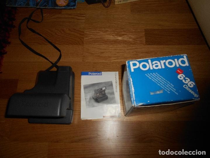 Cámara de fotos: CAMARA DE FOTOS Polaroid 636 Close Up Funciona CON CAJA Y PAPELES ORIGINAL - Foto 4 - 168636360