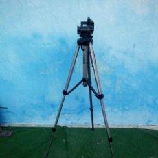 Cámara de fotos: TRÍPODE EXTENSIBLE MIRANDA TITAN 606 TRIPOD,EN CAJA ORIGINAL ALGO ESTROPEDADA. Lote 168872052