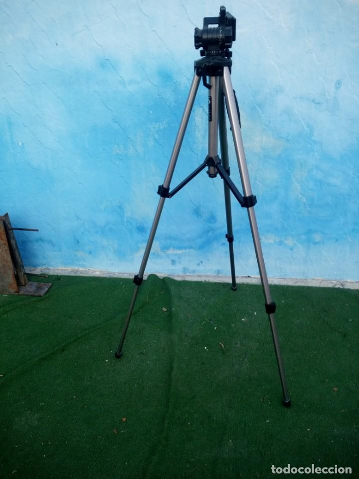 Cámara de fotos: trípode extensible miranda titan 606 tripod,en caja original algo estropedada - Foto 2 - 168872052