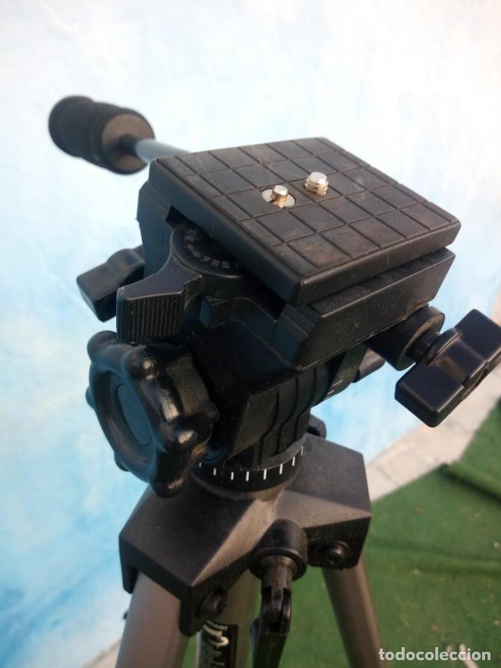 Cámara de fotos: trípode extensible miranda titan 606 tripod,en caja original algo estropedada - Foto 5 - 168872052