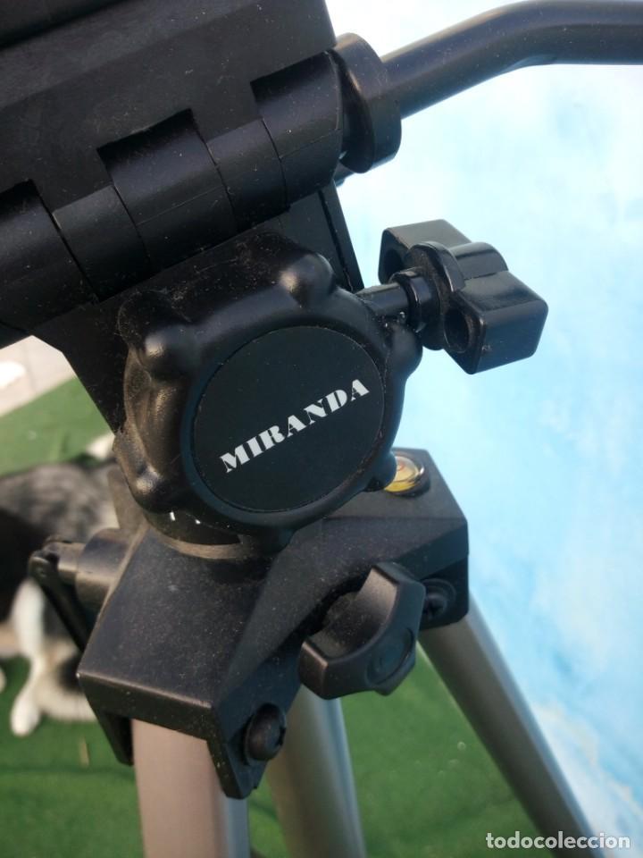 Cámara de fotos: trípode extensible miranda titan 606 tripod,en caja original algo estropedada - Foto 6 - 168872052