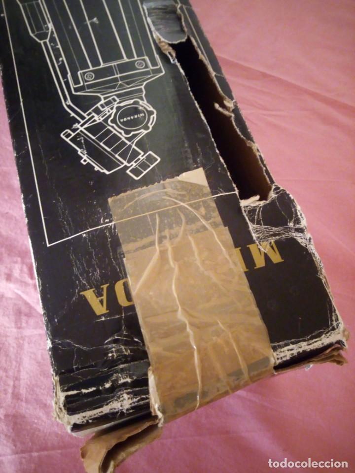 Cámara de fotos: trípode extensible miranda titan 606 tripod,en caja original algo estropedada - Foto 10 - 168872052