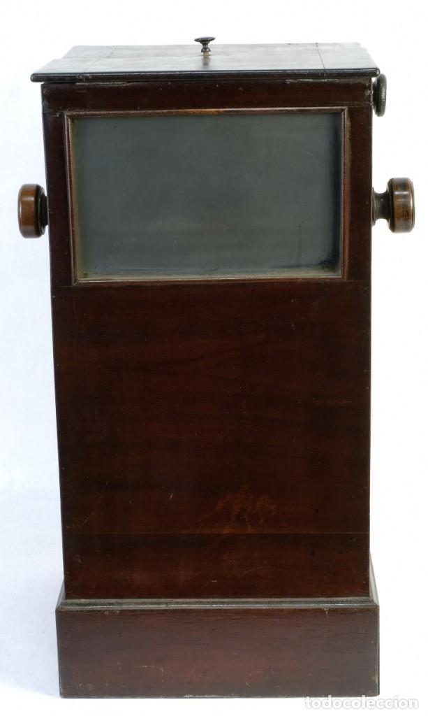Cámara de fotos: Visor estereoscópico para placas de Cristal hacia 1900 - Foto 3 - 169043552