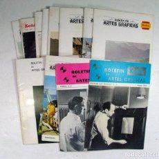 Cámara de fotos: 12 NUMEROS KODAK. BOLETIN ARTES GRAFICAS. AÑOS 1965 – 1966 – 1968 – 1969 Y 1970. Lote 169204732