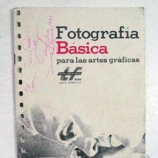 Cámara de fotos: KODAK. FOTOGRAFÍA BASICA PARA LAS ARTES GRÁFICAS.. Lote 169205828