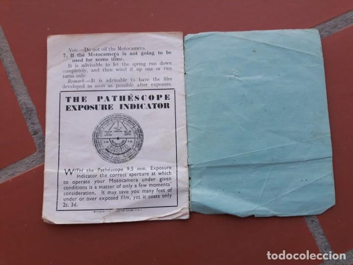 Cámara de fotos: Manual Pathescope Motocamera Type H - Foto 2 - 169451128