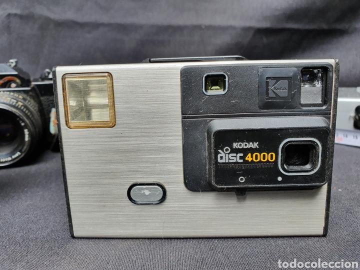 Cámara de fotos: Lote 4 cámaras a cuerda y varios. Kodak, UF-9000, Agfa optima 335 y videocamara - Foto 3 - 169667170