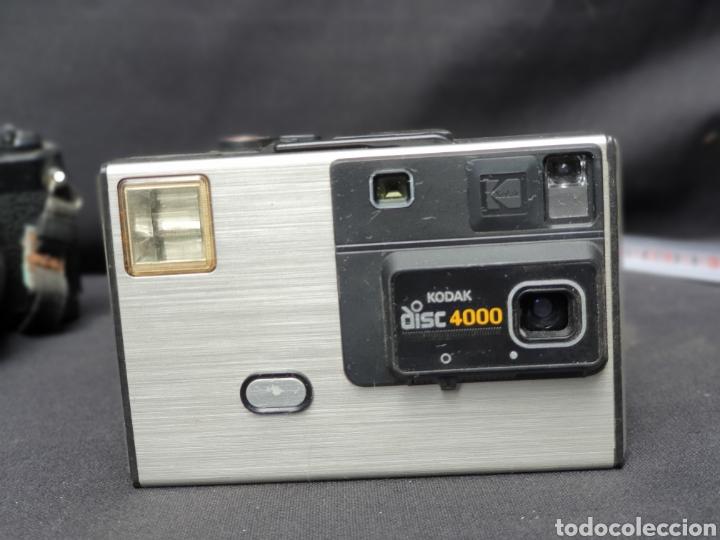 Cámara de fotos: Lote 4 cámaras a cuerda y varios. Kodak, UF-9000, Agfa optima 335 y videocamara - Foto 4 - 169667170