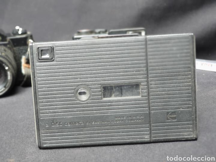 Cámara de fotos: Lote 4 cámaras a cuerda y varios. Kodak, UF-9000, Agfa optima 335 y videocamara - Foto 5 - 169667170