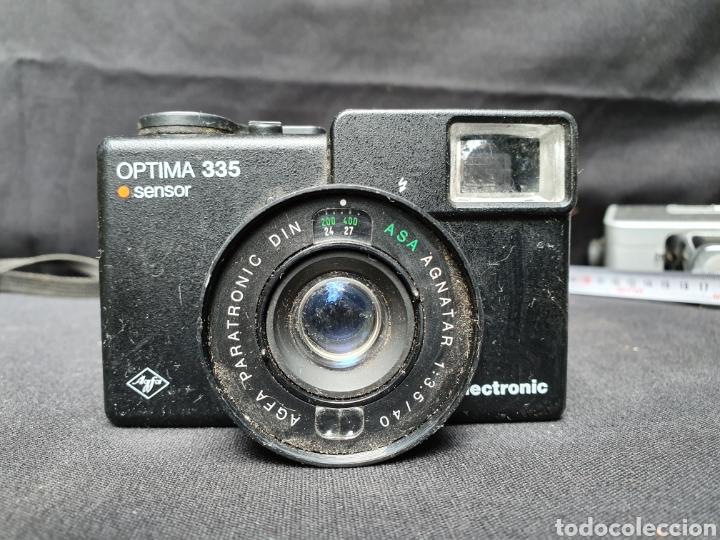 Cámara de fotos: Lote 4 cámaras a cuerda y varios. Kodak, UF-9000, Agfa optima 335 y videocamara - Foto 10 - 169667170