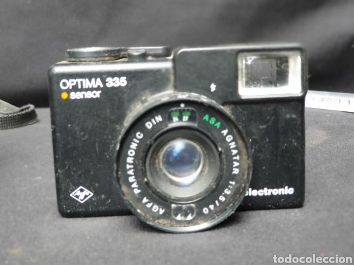 Cámara de fotos: Lote 4 cámaras a cuerda y varios. Kodak, UF-9000, Agfa optima 335 y videocamara - Foto 9 - 169667170