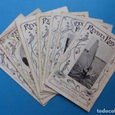 Cámara de fotos: 8 REVISTAS KODAK - AÑOS 1922-1923-1924-1925 - MADRID, VER FOTOS ADICIONALES. Lote 169906104