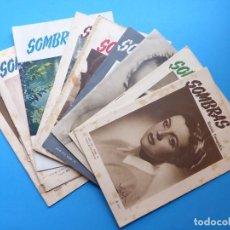 Cámara de fotos: SOMBRAS, 10 REVISTAS FOTOGRAFICAS - AÑOS 1950-1951-1952 - MADRID, VER FOTOS ADICIONALES. Lote 169908136
