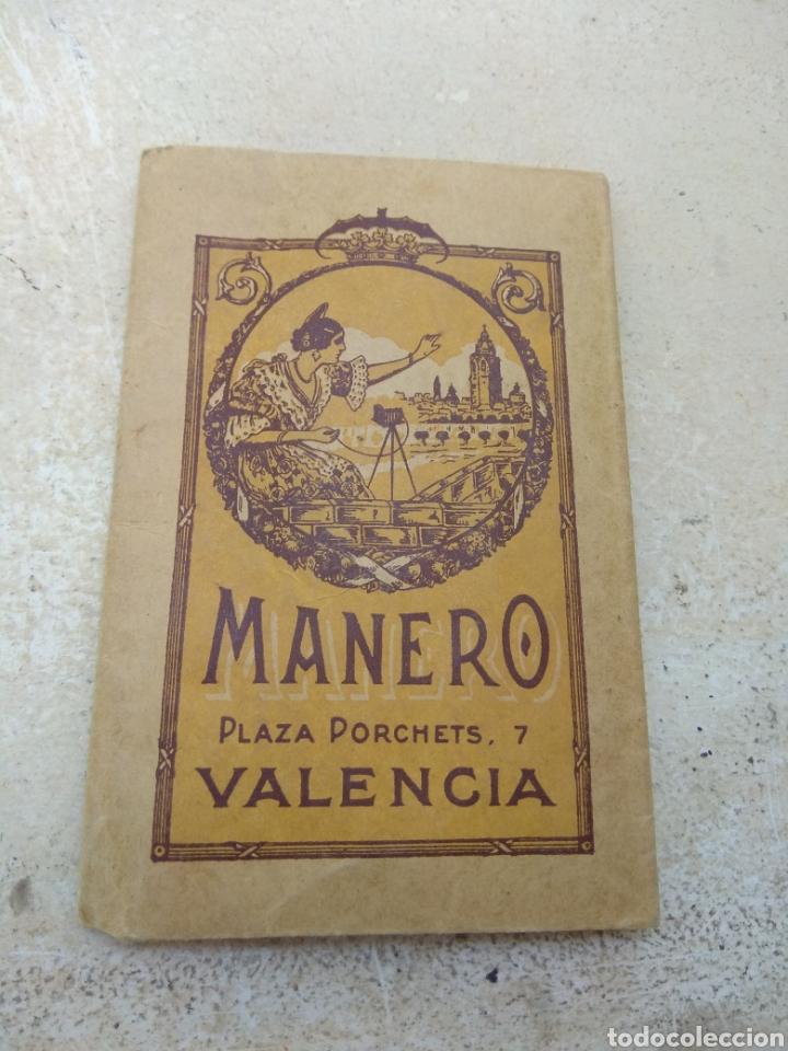 PORTAFOTOS PUBLICITARIO CASA MANERO - ARTÍCULOS FOTOGRÁFICOS - PLAZA PORCHETS 7 VALENCIA - (Cámaras Fotográficas - Catálogos, Manuales y Publicidad)