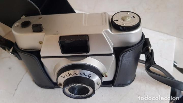 Cámara de fotos: ANTIGUA CAMARA DE FOTOS CON FUNDA - Foto 2 - 170874485