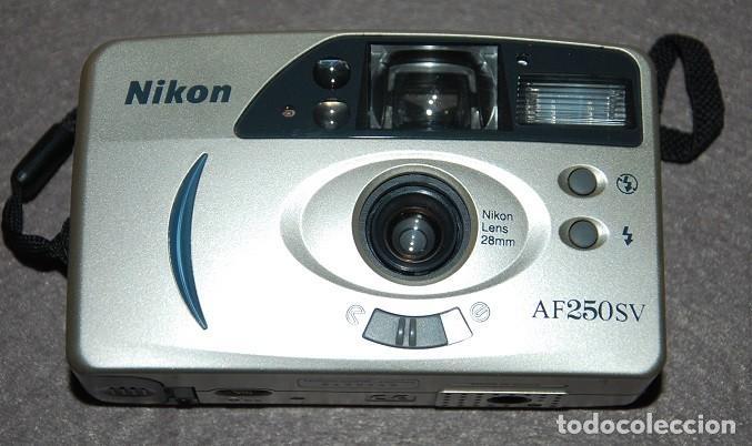 CAMARA FOTOGRAFICA DE 35 MM NIKON AF250SV (Cámaras Fotográficas - Otras)