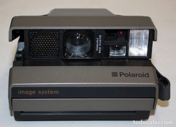 POLAROID - IMAGE SYSTEM - CON ESTUCHE Y MANUAL. (Cámaras Fotográficas - Otras)