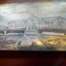 Cámara de fotos: PLACA D COBRE RIGIDO AGUA FUERTE - PARLAMENTO D LA GENERALITAT DE BARCELONA- CALCULO PRINCIPIOS 1900. Lote 171446380