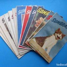 Cámara de fotos: SOMBRAS - 14 REVISTAS DIFERENTES - AÑOS 1940, VER FOTOS ADICIONALES. Lote 172013295
