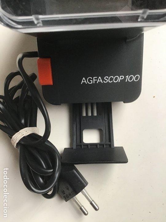 Cámara de fotos: AGFASCOP 100 . Visor de diapositivas, filminas y negativos. 5X5. En su caja original. - Foto 5 - 172168522