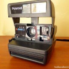 Cámara de fotos: POLAROID 636 CLOSE UP AÑO 1996.. Lote 172313052