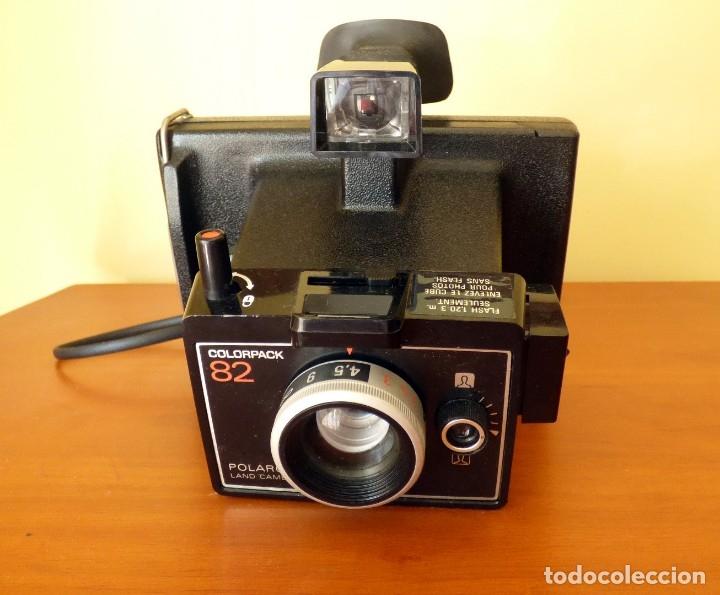 Cámara de fotos: POLAROID LAND CAMERA COLORPACK 82 COLECCIONISTAS - Foto 5 - 172314250