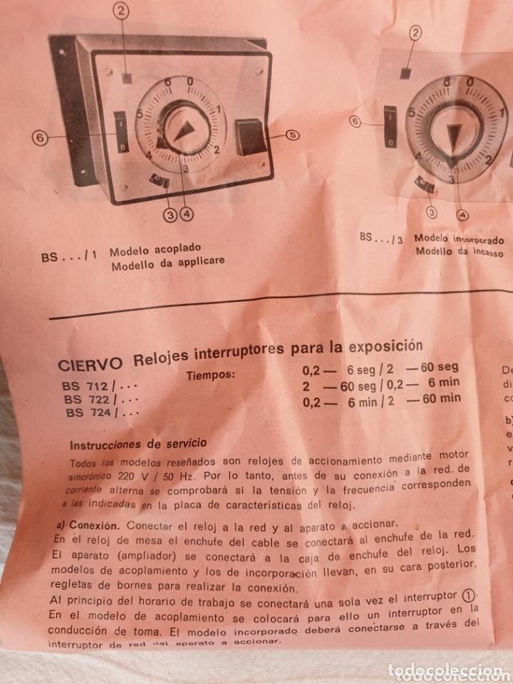 Cámara de fotos: Reloj fotografía revelado Baeuerle - Foto 5 - 172496268